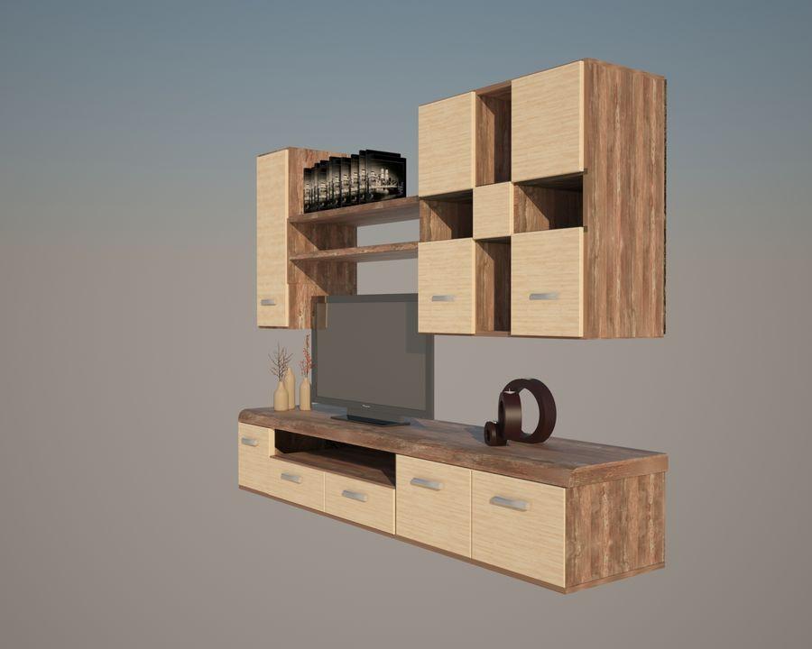muebles para sala royalty-free modelo 3d - Preview no. 3