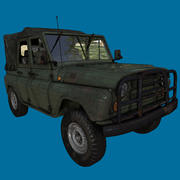 duggy jeep car 3d model