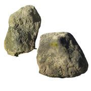 Zwei alte Steine 3d model