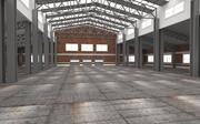 Hangar interiör 3d model