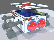 SciFi歩哨ボット 3d model
