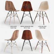 Krzesło Eames z drewna DSW 3d model