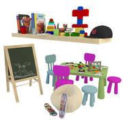 habitación infantil modelo 3d