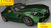 Mercedes AMG GT R 3d model