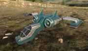 배 또는 공상 과학 비행기 3d model