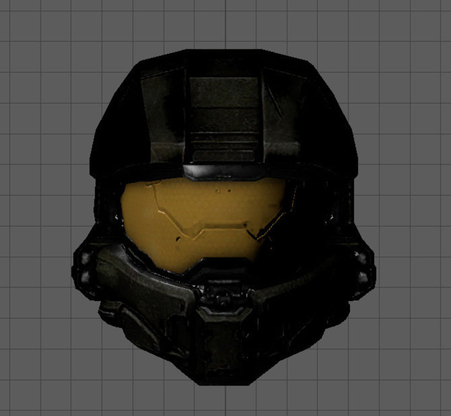 Scifi Space Helm royalty-free 3d model - Preview no. 2
