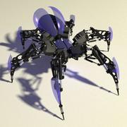 Aranha robô 3d model