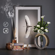 decor set calla 3d model