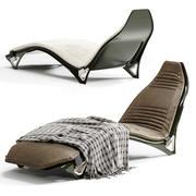 V007 Chaise longue 3d model