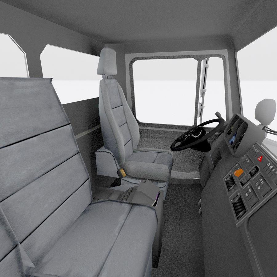 unimog kamyon royalty-free 3d model - Preview no. 7