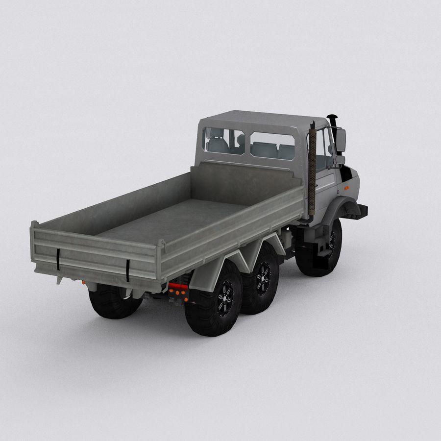 unimog kamyon royalty-free 3d model - Preview no. 5