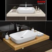 Umywalka RAVAK | Ceramika R (1) 3d model