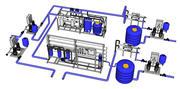 Estação de Água 3d model