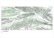Topografia di Gerusalemme e un ammasso schematico di edifici e quartieri sul lato sud-ovest della città (Beit Hakerem, Pat, Givat Mordechai, Givat Shaul, Begin, Rasko) 3d model