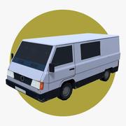Van Car 02 3d model