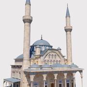 Mezquita Muradiye modelo 3d