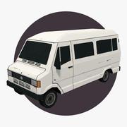Van Car 04 3d model