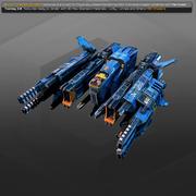 SF Bomber SR9 3d model