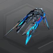 SF Alien Fighter A3 3d model