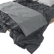 Łóżko fotorealistyczne 3d model