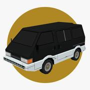 Van Car 05 3d model