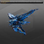 SF爆撃機RK3 3d model