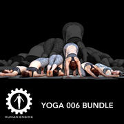 Yoga 006 Bundle 3d model