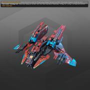 SF爆撃機RX4 3d model
