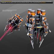 EXPLORER Terraformer Platform EX4 3d model