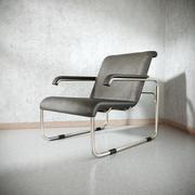 Marcel Breuer B35椅子 3d model