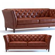 Scotch Tufted Sofa 3d model