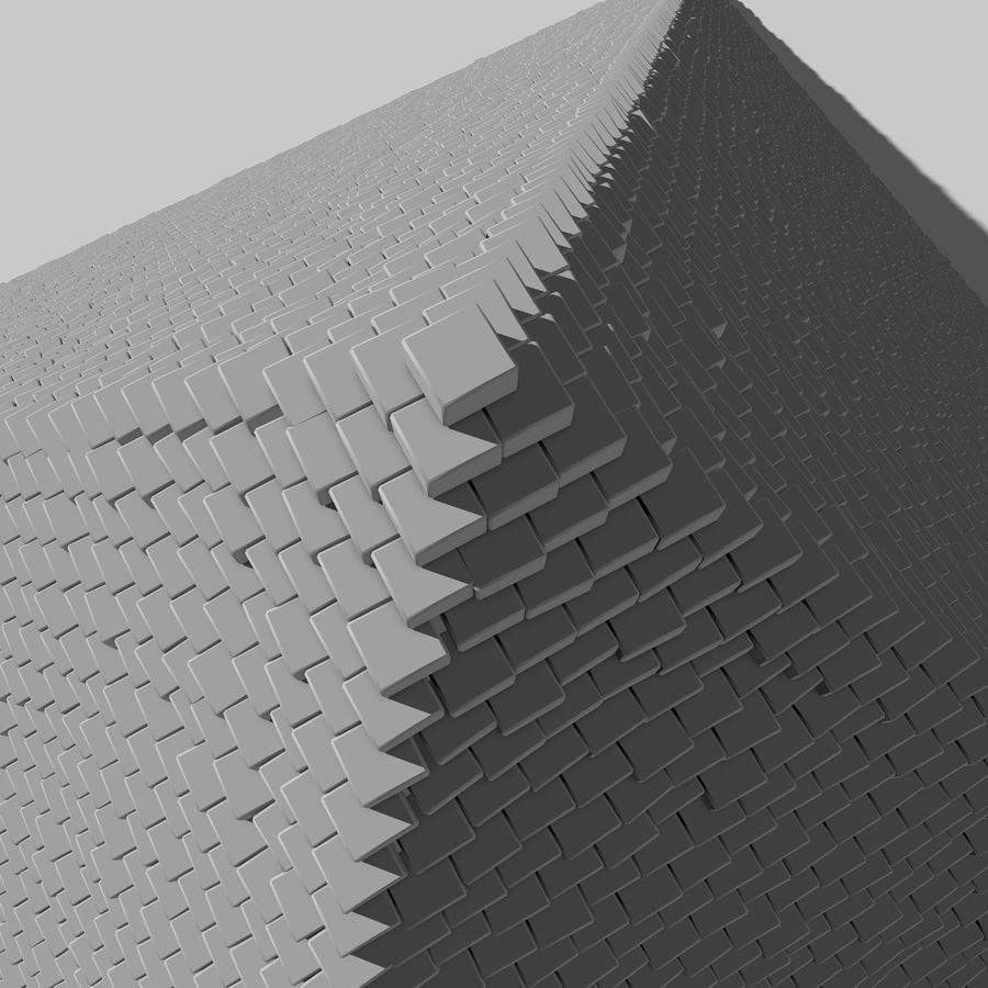 Pyramid royalty-free 3d model - Preview no. 5