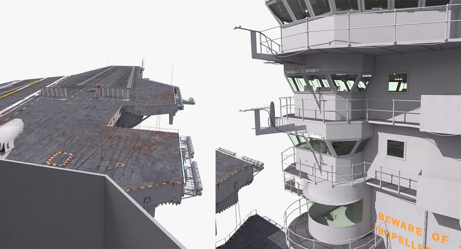 US Aircraft Carriers Collection royalty-free 3d model - Preview no. 54