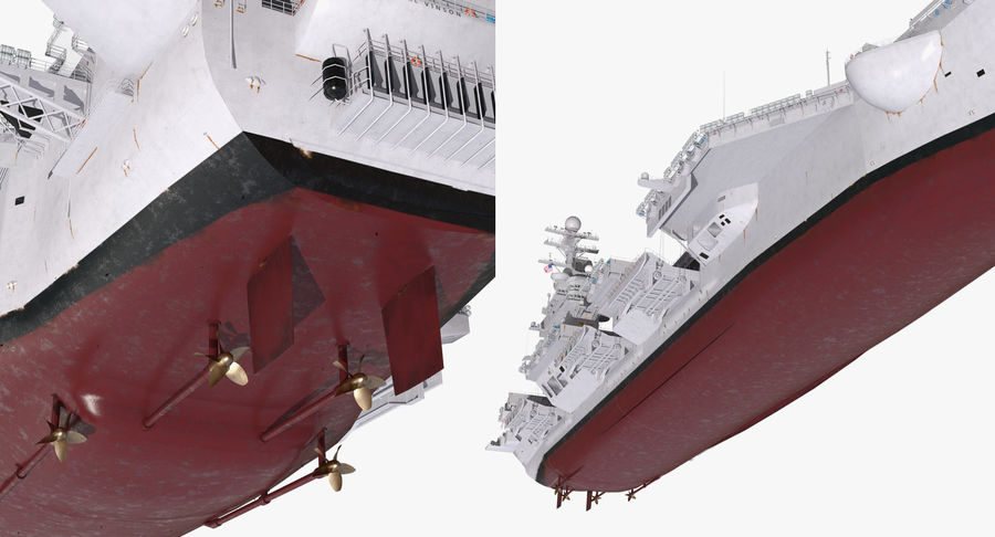US Aircraft Carriers Collection royalty-free 3d model - Preview no. 31
