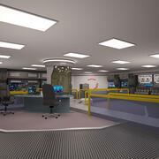 Научно-фантастическая лаборатория 3d model