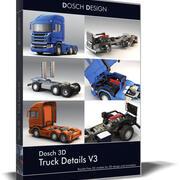 Dosch 3D - Детали грузовика V3 3d model
