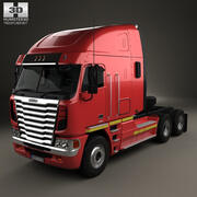 Freightliner Argosy牵引车2011 3d model