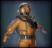 Diver Suit 3d model