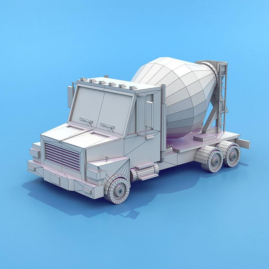 Mega Pack collezione di veicoli royalty-free 3d model - Preview no. 88