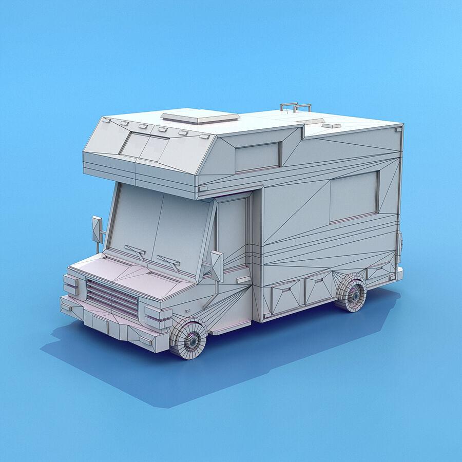 Mega Pack collezione di veicoli royalty-free 3d model - Preview no. 79