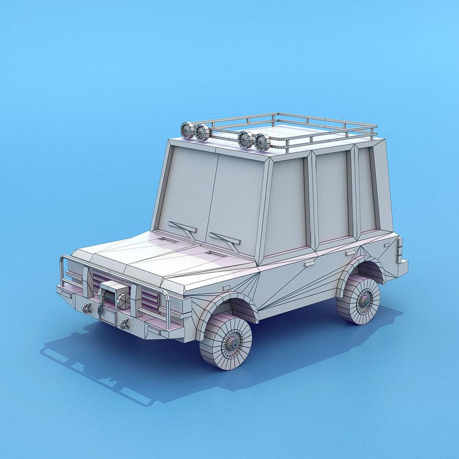 Mega Pack collezione di veicoli royalty-free 3d model - Preview no. 64