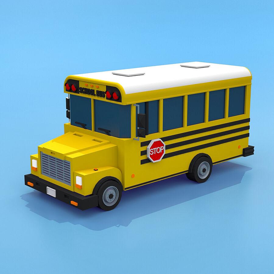 Mega Pack collezione di veicoli royalty-free 3d model - Preview no. 38