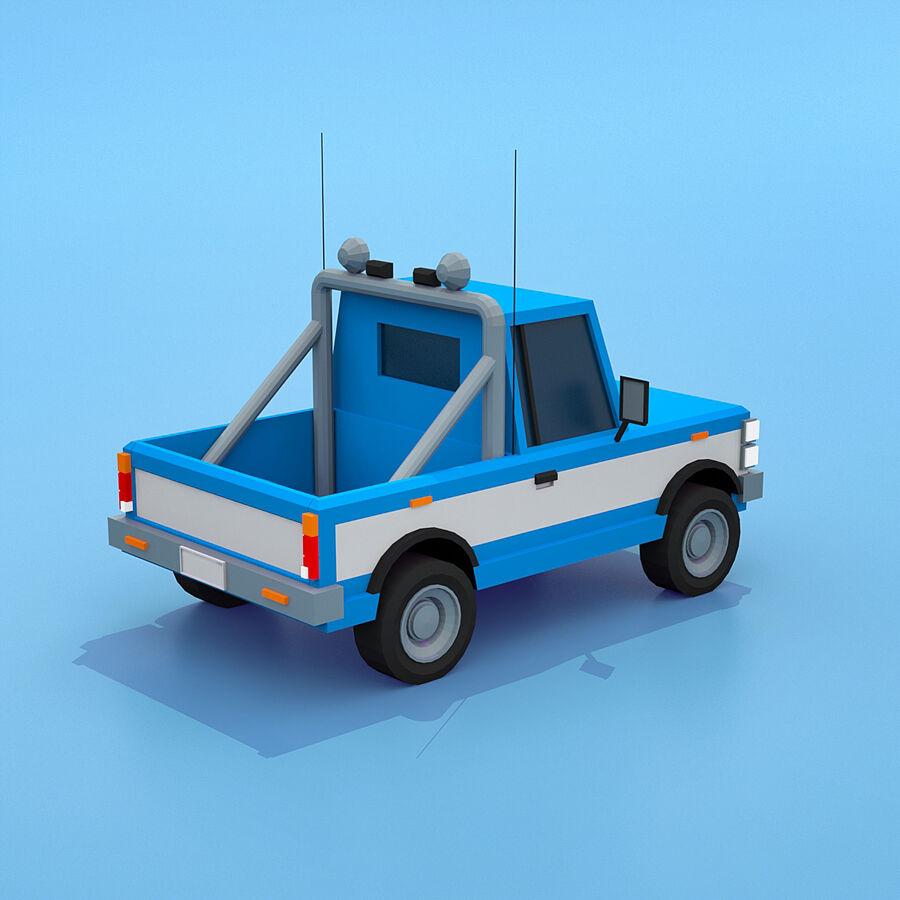 Mega Pack collezione di veicoli royalty-free 3d model - Preview no. 60