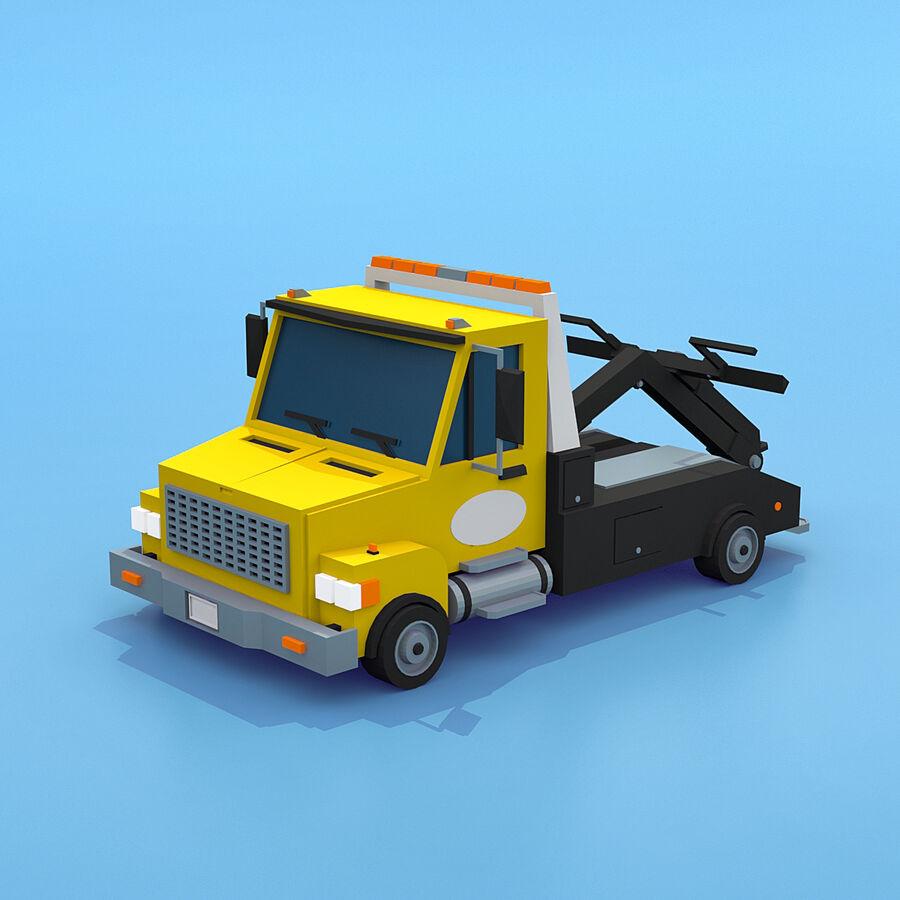 Mega Pack collezione di veicoli royalty-free 3d model - Preview no. 41