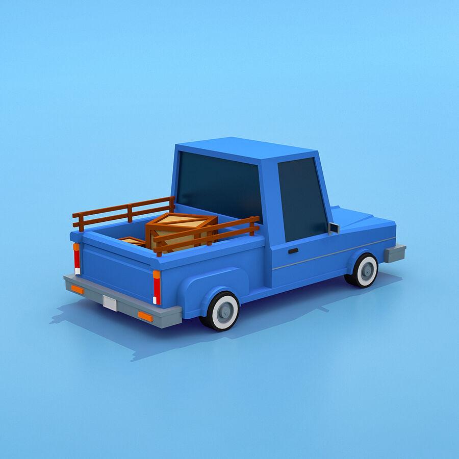 Mega Pack collezione di veicoli royalty-free 3d model - Preview no. 9
