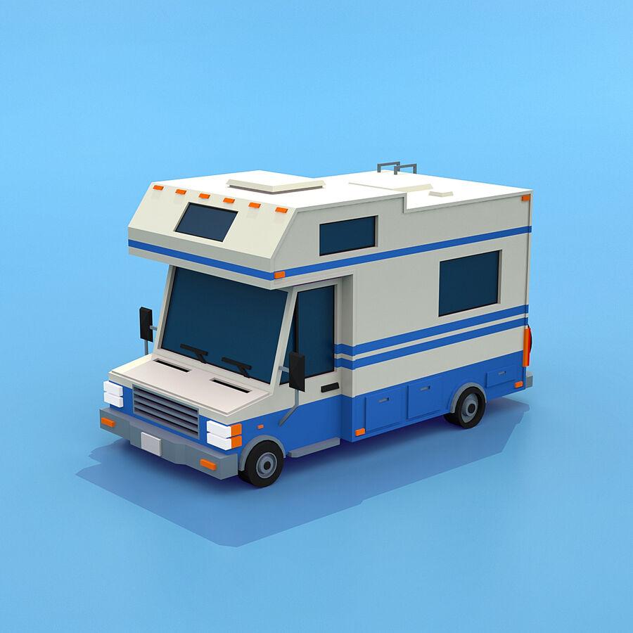Mega Pack collezione di veicoli royalty-free 3d model - Preview no. 77