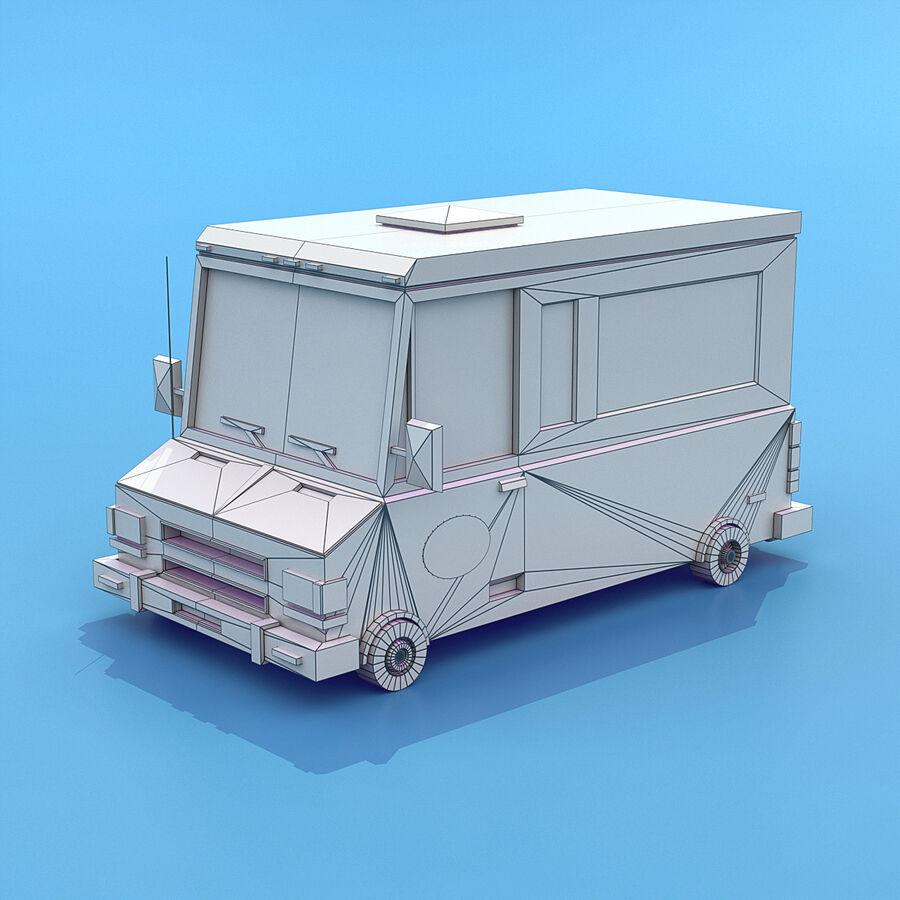 Mega Pack collezione di veicoli royalty-free 3d model - Preview no. 94