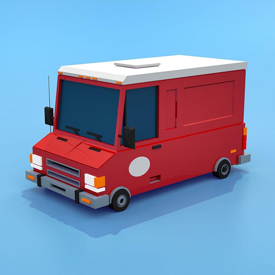 Mega Pack collezione di veicoli royalty-free 3d model - Preview no. 92