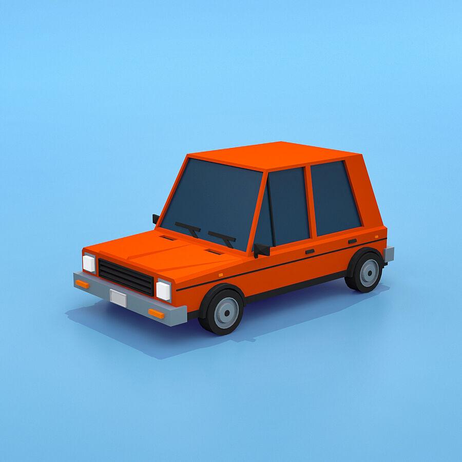 Mega Pack collezione di veicoli royalty-free 3d model - Preview no. 44