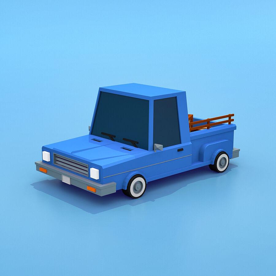 Mega Pack collezione di veicoli royalty-free 3d model - Preview no. 8